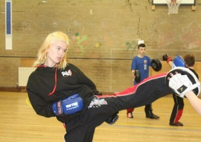 Cadet and Adult Kickboxing