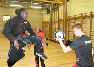 Adult and Cadet Kickboxing Training